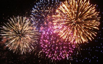 Feu d'artifice. Attention danger pour votre audition !