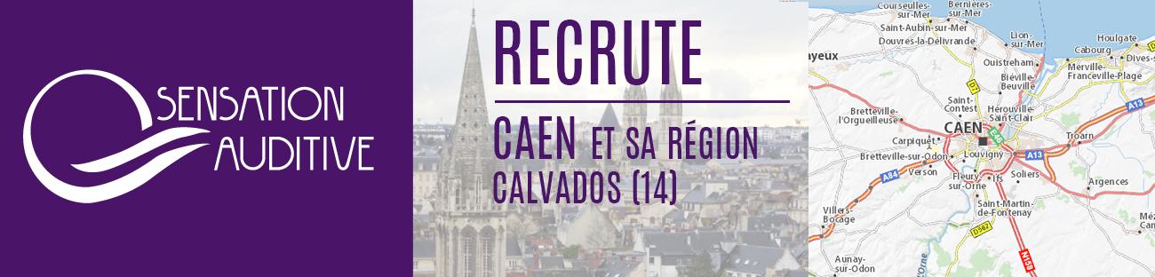 Recrutement audioprothésiste Caen Calvados 14
