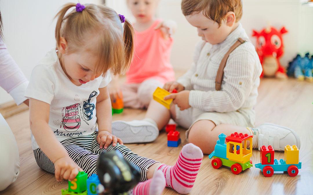 Audition et jouets bruyants