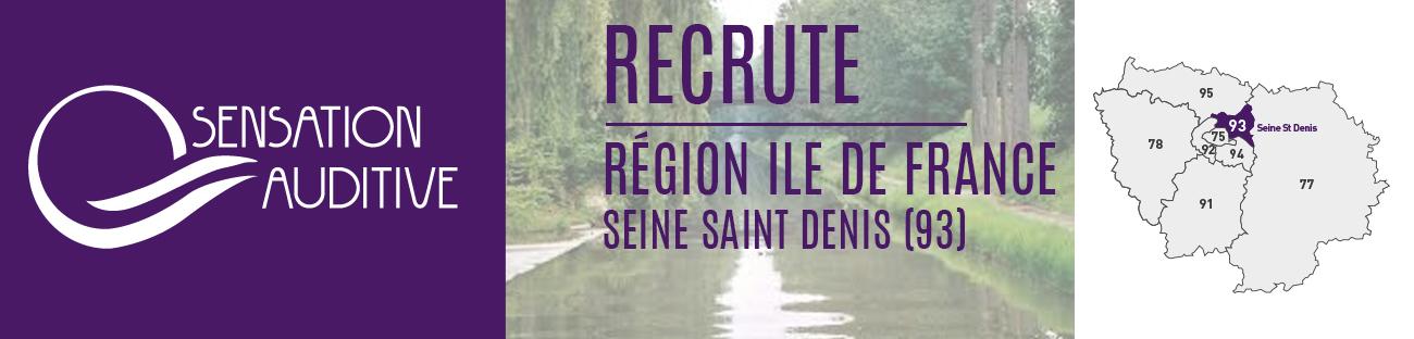 sensation Auditive recherche audioprothésiste secteur Seine saint Denis