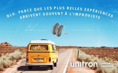 Unitron lance Blu, une nouvelle technologie qui s'adapte aux imprévus de la vie